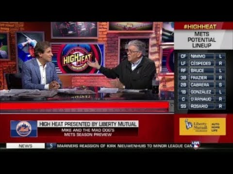 Mike Francesa & The Mad Dog Chris Russo on High Heat (FULL V