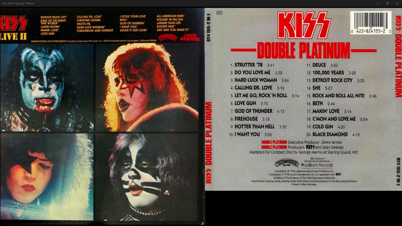 neil gene simmons stanley platinum ace kiss criss kramer wise richie peter delaney sean coronel frehley dp stephen bogart eddie paul double