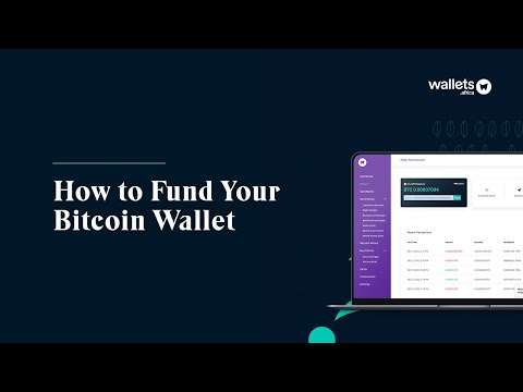 How To Fund Your Bitcoin Wallet