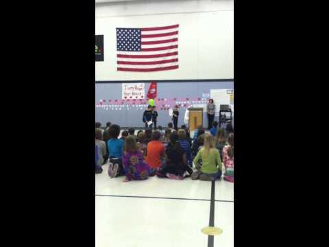 Izabella's Third Grade Assembly at Knapp Charter Academy