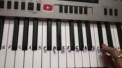 Ye bandhan to pyar ka bandhan hai|keyboard Tutorial|Piano|Harmonium|Step by step|Slowly played