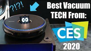 Best Vacuum Cleaner / Robot Vacuum Tech from CES 2020!!