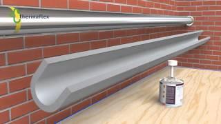 Монтаж трубной теплоизоляции Thermaflex(Монтаж трубной теплоизоляции Thermaflex прямой участок., 2014-03-18T10:48:50.000Z)
