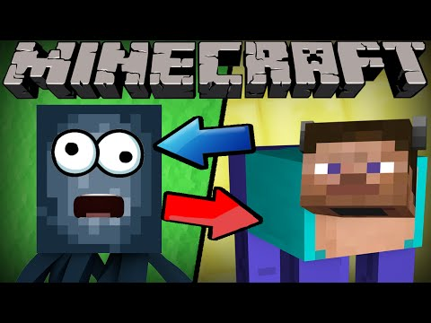 Thumbnail: If Mobs and Players Switched Places - Minecraft