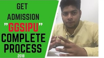 How to get admission in GGSIPU?Complete Details Ipu online counselling|Higher Education