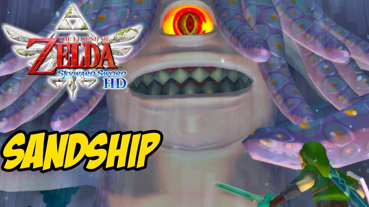 SANDSHIP | The Legend of Zelda Skyward Sword HD Gameplay Walkthrough Part 14 (Switch)