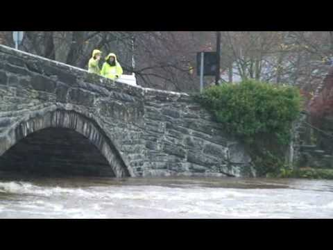 Flooding in North Wales