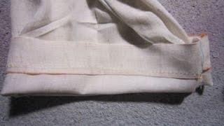 Tuto en 2 parties pour vous expliquez comment réaliser un ourlet invisible : la partie 1 pour les ourlets de rideaux invisible, la partie 2 pour les ourlets de ...