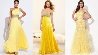 Top 100 Most beautiful yellow prom dresses for women