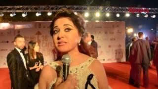 بالفيديو.. هكذا لم تنسى 'مادلين طبر' الساحر 'محمود عبد العزيز' في القاهرة السينمائي
