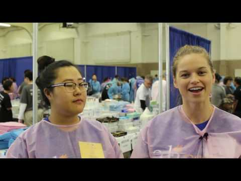 Dental student volunteers talk about why they care