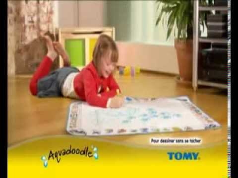 Tapis Aquadoodle De Tomy Youtube