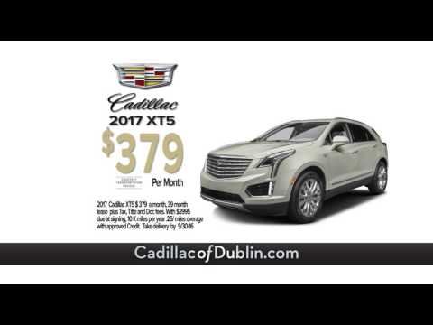 New Lease Specials Available at Cadillac of Dublin