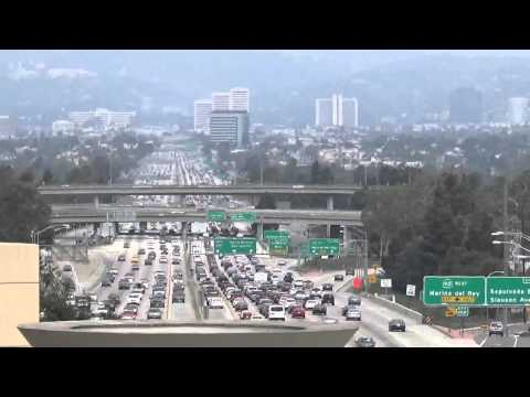 View of 405 Freeway in Los Angeles