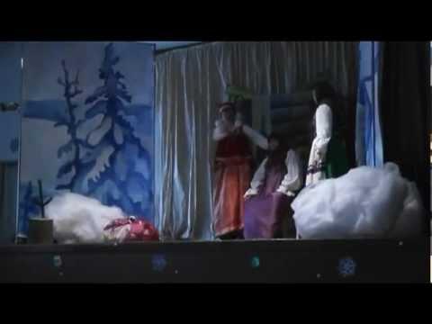 Ольга и Злата Либердовская Спектакль Морозко