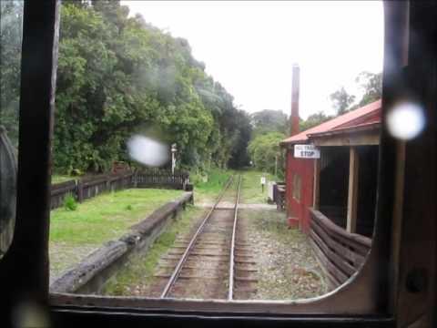New zealand Railway west coast