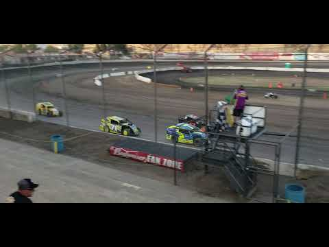 Bakersfield Speedway August 3, 2019 California  Modlites heat race 2