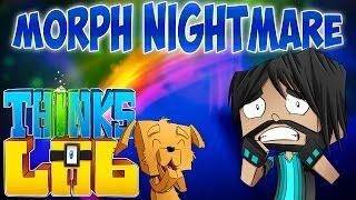 BATHROOM NIGHTMARE!! | Think's Lab Minecraft Mods [Minecraft Roleplay]