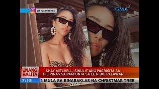 UB: Shay Mitchell, sinulit ang pagbisita sa Pilipinas sa pagpunta sa El Nido, Palawan