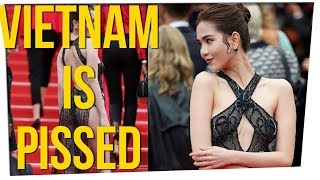 Vietnamese Model May Be FINED For Her Dress at Cannes Film Festival