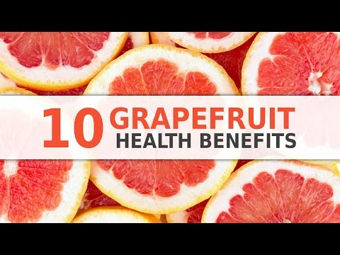 10 Health Benefits of Grapefruits