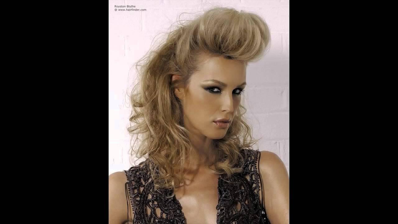 Women Quiff Hairstyle Ideas Youtube
