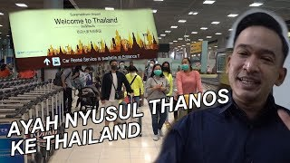 The Onsu Family - Ayah nyusul Thanos ke Thailand