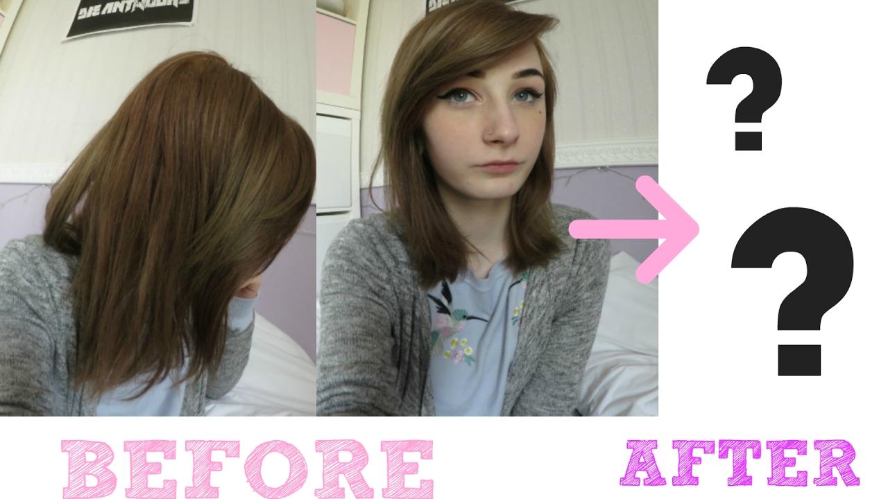 DIY Umstyling Extrem Meine neuen Haare