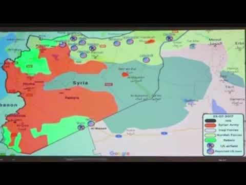 Unter Missachtung des Völkerrechts! US-Imperium besetzen Syrien mit mehr als 10 Militärbasen!!