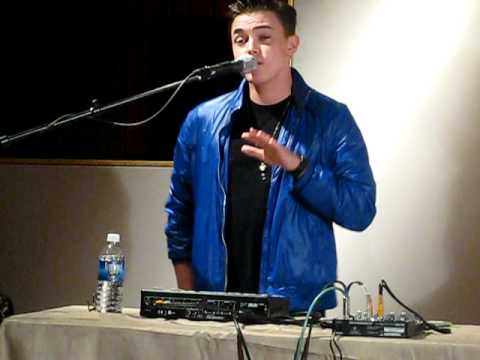 "Jesse McCartney- ""Leaving""  @ Music Shed in New Orleans"