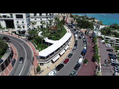 Monaco Grand Prix from the terrace of Le Louis XV - Alain Ducasse à l'Hôtel de Paris