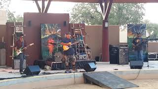 New Mexico Sate Fair 2018 - Indian Village - Son of Hweeldi - JJ Otero and Levi Platero