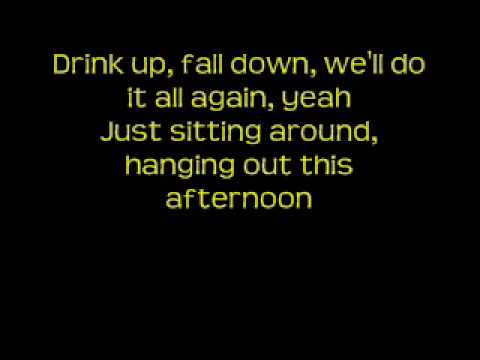 This Afternoon by Nickelback with lyrics