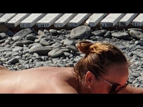 АБХАЗИЯ 2019 Нудистский пляж