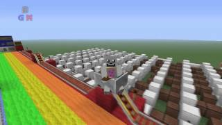 Minecraft Canciones Note Blocks - Nyan Cat
