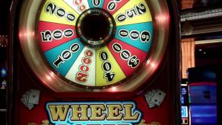 video wheel poker spin