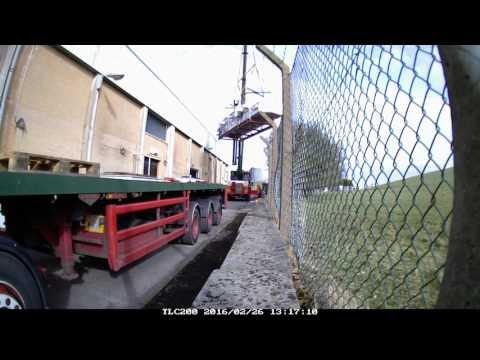 Alfamatic - AOM crane lift Cheese Store 5 (Video 2)