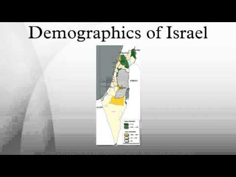 Demographics of Israel