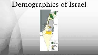 Demographics of Israel