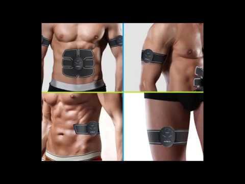 Как накачаться без железа!Мышечный стимулятор с Али,распаковка,обзор и советы по применению