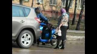 Авария в г. Железнодорожный / Accident in Zheleznodorozhny city(Здесь авария, которая произошла 14 апреля 2012 года в городе Железнодорожный, на улице Юбилейная, у дома №9...., 2012-04-15T07:21:44.000Z)