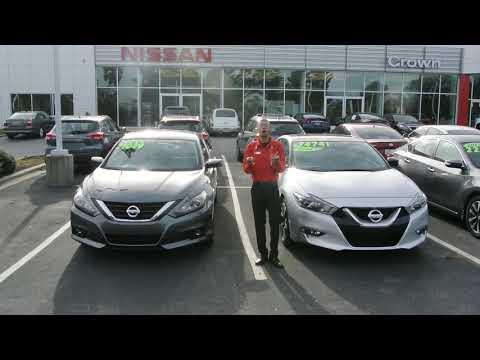 Tackle October Savings At Crown Nissan Of Greenville