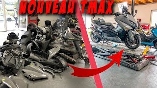 TMAX 530 ACCIDENTE - REMONTAGE COMPLET