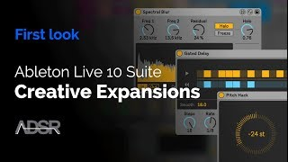 Creative Extensions - New in Ableton Live 10 Suite