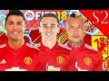 RONALDO, GRIEZMANN, NAINGGOLAN SIGN! FIFA 18: MANCHESTER UNITED CAREER MODE S2 #1