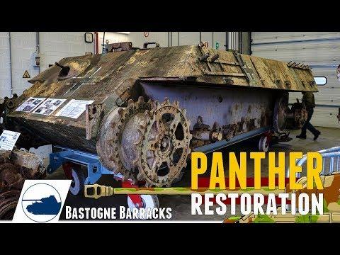Panther 111 Restoration - Bastogne Barracks part 2