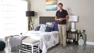 Skyline Upholstered Headboard - Product Review Video