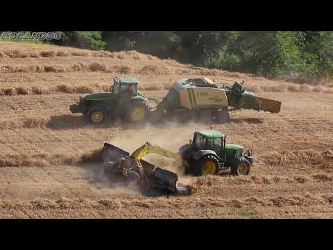 Nepa Agri-Commerce  /JD 6930 +ROC RT1000  JD 82000+KRONE BIGPACK 1290XC HDP/  -Paglia 2017-