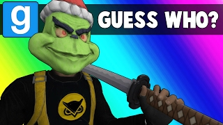 Gmod Guess Who Funny Moments - Becoming a Samurai Master! (Garry's Mod)