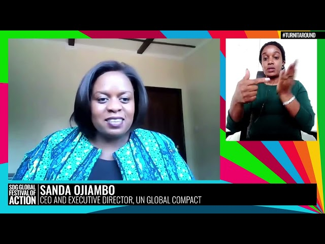 A Turning Point Dialogue: In Conversation with Sanda Ojiambo (Spanish)